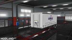 Unix Trailer skin pack for  for curtain side trailers., 2 photo