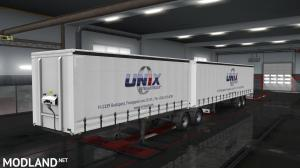 Unix Trailer skin pack for  for curtain side trailers., 3 photo