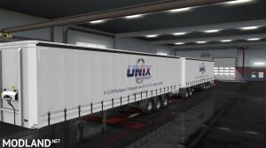 Unix Trailer skin pack for  for curtain side trailers., 4 photo