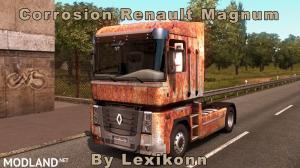 Corrosion Renault Magnum, 2 photo
