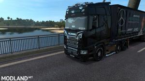 AMG PERTRONAS F1 team - Truck And Trailer Skin, 3 photo