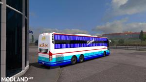 Indian Volvo Bus Mod Skin - KPN Travels Sleeper Bus, 3 photo