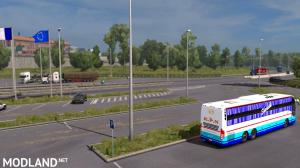 Indian Volvo Bus Mod Skin - KPN Travels Sleeper Bus, 1 photo