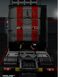 Mercedes Benz Actros MP4 AMG Skin Mod ✅1.35 ✅, 2 photo