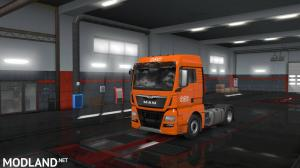 ETS 2 - European Logistics Companies Paint Jobs Pack v 1.1, 4 photo