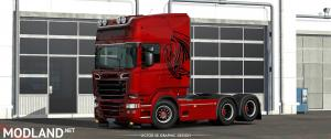 The Griffin RJL's Scania R Skin, 2 photo