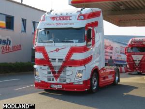 Vogel Volvo white skin, 1 photo