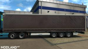 HQ paint job for long curtain trailers v1.11, 4 photo