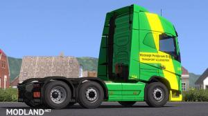 Volvo FH16 750 - Skin Koolwijk Logistics For ETS2 1.33.x, 1 photo