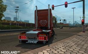 Scania RJL Red Vabis SKin, 3 photo