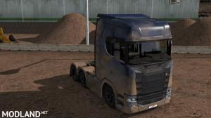 Dirty Scania S High Roof by l1zzy, 1 photo