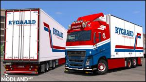 "Volvo FH16 2012 ""Ryggard Transport"" Skin v 2.0, 1 photo"