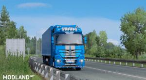Blue Paintjob Mp3 - ets2 1.35, 1 photo