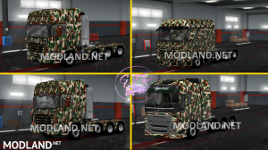 Combo Skin Military for all Truck and (Krone & Standard Trailers), 2 photo