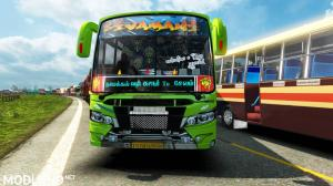 Tamilnadu Private Bus Skin ETS2 Game v1.30