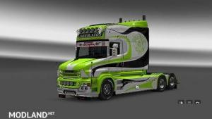 Scania T Ageratos Line Skin - External Download image