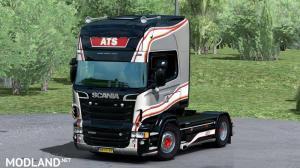 Scania RJL Andriessen Transport Service Skin