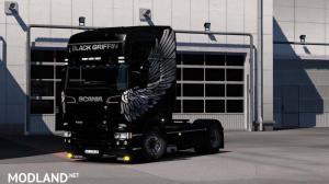 Scania RJL Black Grifiin Edition, 1 photo