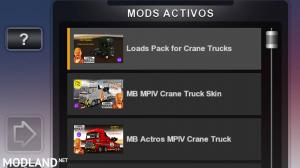 MB ACTROS MPIV CRANETRUCK CUSTOM SKIN1.35.x DX11 (WITH ACTROS TUNING PACK COMPATIBILITY), 3 photo