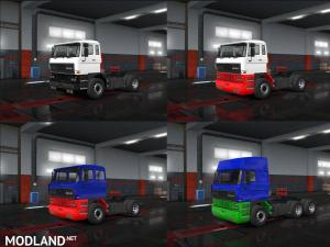 Two-tone Paint for DAF F241, 1 photo