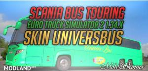 Bus Touring Skin – UniversBus - ETS2 1.34.x, 1 photo