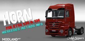[1.36] MohSkinner - Sound - Horn For Mercedes Actros 2009