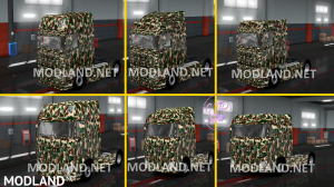 Combo Skin Military for all Truck and (Krone & Standard Trailers), 5 photo