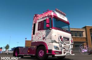 DAF XF Euro 6 Pink, 1 photo
