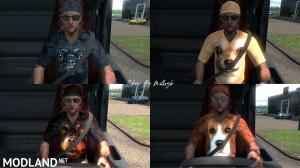Dog T Shirt Skin Pack 1 For Driver