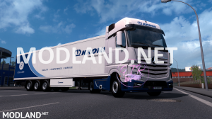 Skin Krone Mercedes Benz Actros [New & Old]