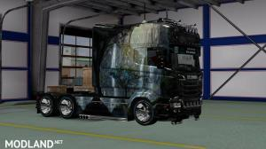 Skin Fantastic Peyzaj v3 for Scania RJL Longline, 1 photo