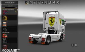 Ferrari Skin for Scania by RJL, 2 photo