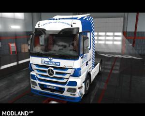 Mercedes Actros - Michelin Skin, 2 photo