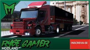 Scania 113 Grafitada Skin