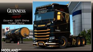 Guinness Scania S&R skin+Trailer Skin, 1 photo