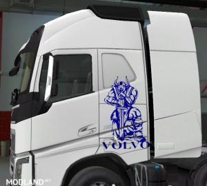 volvo skin  truck 1.37 ++ New