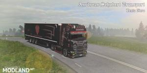 Scania S Andreas Schubert Vento Nero Combo Skin v 1.0, 1 photo