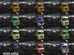 Mitsubishi Fuso SuperGreat V Japan Skin Packs v 1.0