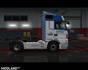 Mercedes Actros - Michelin Skin - External Download image