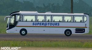 Skin supratours – MAN Lion Coach – ETS2 1.35.x, 1 photo