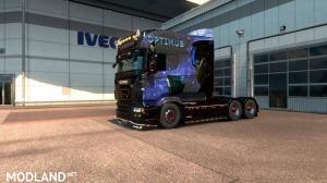 Optimus Prime Paintjob for RJL's Scania R Longline