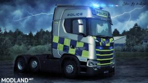 Police NG Scania Skin 1, 1 photo