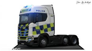 Police NG Scania Skin 2, 1 photo