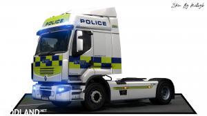 Police Renault Premium Skin 1, 1 photo