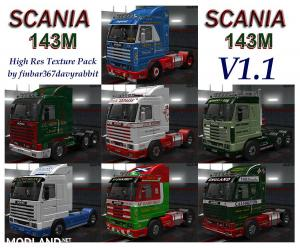 Scania 143M Skin Pack v 1.1, 1 photo