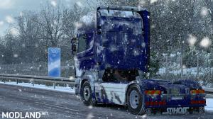 Snow Skin for Scania RS(RJL) by ARADETH, 2 photo