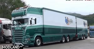 Scania R730 Gallo Trasporti combo skin
