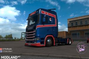 Skin Serbia v1.1 for Scania S Next Gen, 1 photo