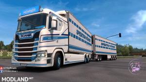 Skin Pack Spedition Hohner V1.1 for Scania S Next Gen Tandem