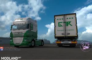 Skin Pack Transport & Logistics for DAF XF 105, 2 photo